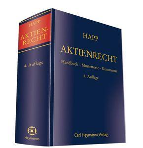 Aktienrecht (AktR)