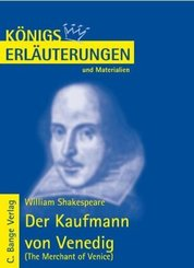 William Shakespeare 'Der Kaufmann von Venedig'