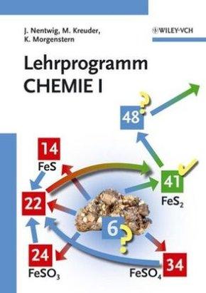 7 Programme Allgemeine Chemie, 20 Programme Anorganische Chemie, 2 Programme Organische Chemie