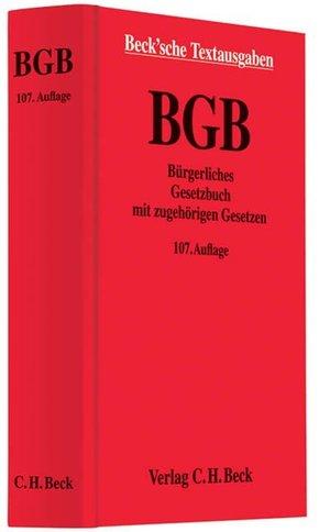 Bürgerliches Gesetzbuch (BGB) mit zugehörigen Gesetzen