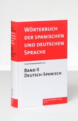 Wörterbuch der spanischen und deutschen Sprache: Deutsch-Spanisch