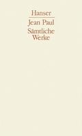 Sämtliche Werke, 10 Bde.: Siebenkäs; Flegeljahre; Abt.1; Bd.2