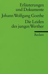 Johann Wolfgang Goethe 'Die Leiden des jungen Werther'