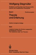 Probleme und Resultate der Wissenschaftstheorie und Analytischen Philosophie, Studienausgabe: Theorie und Erfahrung; Bd.2/D - Tl.D