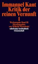Kritik der reinen Vernunft, 2 Bde.