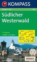 Kompass Karte Südlicher Westerwald