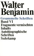 Gesammelte Schriften, 7 Bde. in 14 Tl.-Bdn., Kt: Fragmente vermischten Inhalts, Autobiographische Schriften; Bd.6