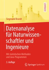 Datenanalyse für Naturwissenschaftler und Ingenieure