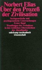 Gesammelte Schriften: Über den Prozeß der Zivilisation - Bd.1