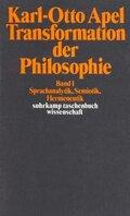 Transformation der Philosophie - Bd.1