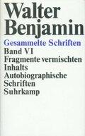 Gesammelte Schriften, Ln: Fragmente vermischten Inhalts, Autobiographische Schriften; Bd.6