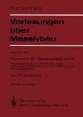 Vorlesungen über Massivbau: Vorlesungen über Massivbau; Tl.4