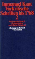 Vorkritische Schriften bis 1768 - Tl.2