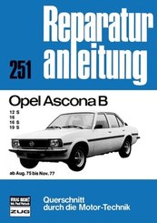 Opel Ascona B       ab August 1975 bis November 1977; .