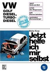 VW Golf Diesel, Turbo-Diesel bis Okt. '83