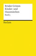 Kinder- und Hausmärchen - Bd.3