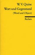 Wort und Gegenstand - Word and Object