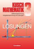 Mathematik, Neuausgabe: Differentialrechnung, Aufgabensammlung mit Lösungen; Bd.3
