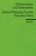 Johann Wolfgang Goethe 'Torquato Tasso'
