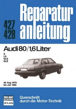 Audi 80  /  1,6 Liter   ab Aug. 1978 bis Juli 1980; .