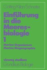 Einführung in die Meeresbiologie 1; Band 2, Abteilung 2 - Bd.1