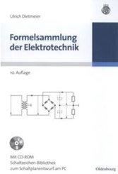 Formelsammlung der Elektrotechnik, m. CD-ROM
