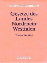 Hippel-Rehborn Gesetze des Landes Nordrhein-Westfalen, Grundwerk ohne Fortsetzung