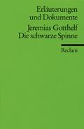 Jeremias Gotthelf 'Die schwarze Spinne'