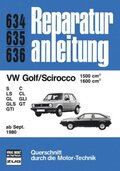 VW Golf / Scirocco 1500 ccm, 1600 ccm (ab Sept. 1980)