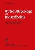 Wirtschaftsgeologie und Rohstoffpolitik