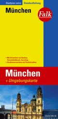 Falk Plan Stadtplan Extra Standardfaltung München