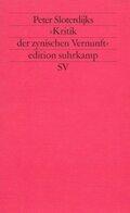 Peter Sloterdijks 'Kritik der zynischen Vernunft'