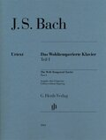 Das Wohltemperierte Klavier, ohne Fingersätze: BWV 846-869; 1