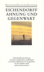 Werke: Ahnung und Gegenwart