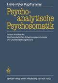 Psychoanalytische Psychosomatik