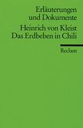 Heinrich von Kleist 'Das Erdbeben in Chili'