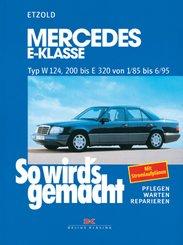 Mercedes E-Klasse Typ W 124, 200 bis E 320 von 1/85 bis 6/95