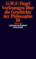 Vorlesungen über die Geschichte der Philosophie - Tl.3