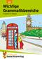 Englisch, Wichtige Grammatikbereiche: 1. Englischjahr