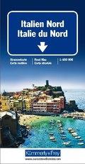 Kümmerly & Frey Karte Italien Nord; Italie du Nord / Northern Italy / Italia del Nord