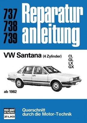 VW Santana (4 Zyl., ab 1982)