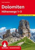 Rother Wanderführer Dolomiten-Höhenwege 1-3