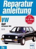 VW Golf 1,6/1,8 Liter (ab Baujahr 1984)
