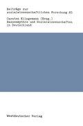 Rassenmythos und Sozialwissenschaften in Deutschland