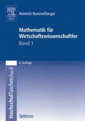 Mathematik für Wirtschaftswissenschaftler - Bd.1