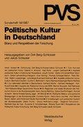 Politische Vierteljahresschrift (PVS): Politische Kultur in Deutschland; Sonderh.18
