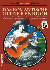 Das romantische Gitarrenbuch, m. Audio-CD - Tl.1