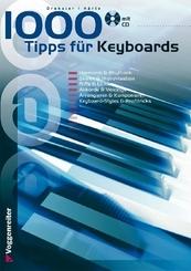 1000 Tipps für Keyboards, m. Audio-CD
