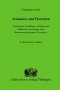 Textanalyse und Übersetzen