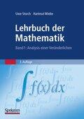 Lehrbuch der Mathematik: Analysis einer Veränderlichen; Bd.1